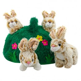 Rabbit Hill Finger Puppet Play Set
