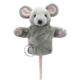 Grey Mouse CarPet Glove Puppet