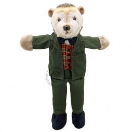 Dressed Animal Puppets: Hedgehog