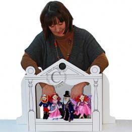 Cardboard Puppet Theatre