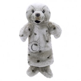 Grey Seal Long Sleeved Glove Puppet
