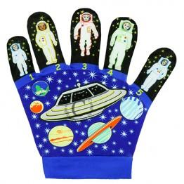 Five Little Space Men Song Mitt