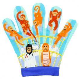 Five Little Monkey Song Mitt