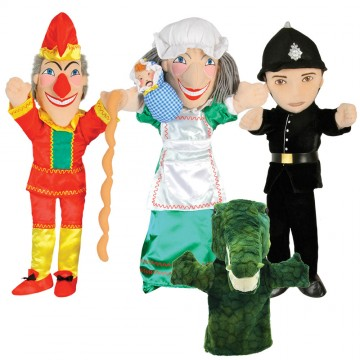 Punch and Judy Puppet Set