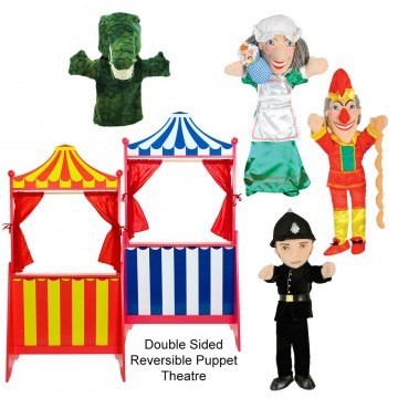 Punch and Judy Theatre Set
