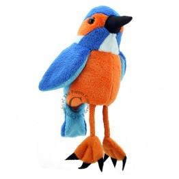 Kingfisher Finger Puppet