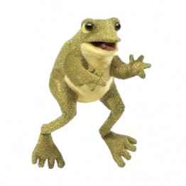 Funny Frog Hand Puppet