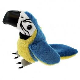 Blue & Gold Macaw Finger Puppet