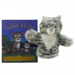 Tabby McTat book with puppets