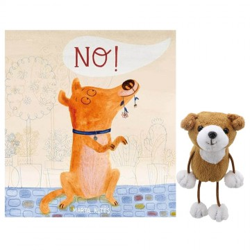 No! Book with Finger Puppet Storytelling Collection