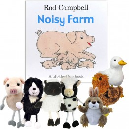 Noisy Farm Book with Finger Puppets