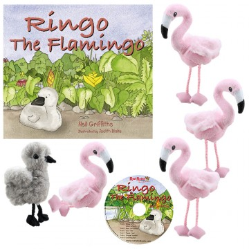Ringo the Flamingo Storytelling Collection