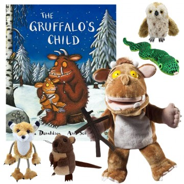 Gruffalo's Child Book with Puppets