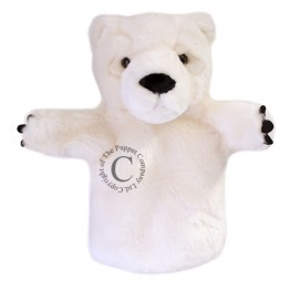 Polar Bear CarPet Hand Puppet