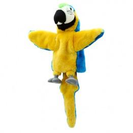Blue Parrot Hand Puppet