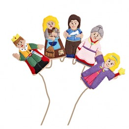 Cinderella Finger Puppet Set