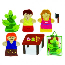 Jack and The Beanstalk Hand Puppet Set