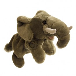 Elephant Hand Puppet - Full-Bodied