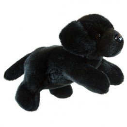 Full-Bodied Animal Puppet: Labrador (Black)