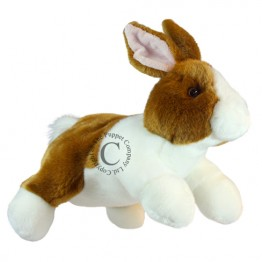 Full-Bodied Animal Puppet: Rabbit (Brown & White)