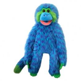 Blue Funky Monkey Hand Puppet