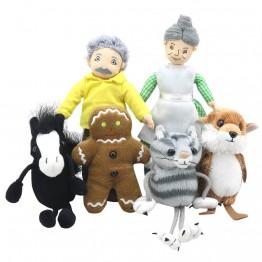 The Gingerbread Man Story Finger Puppet Set