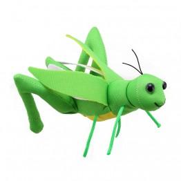 Grasshopper Finger Puppet