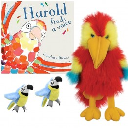 Harold Finds a Voice Book with Puppets