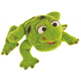 Large Rolf the Frog Hand Puppet