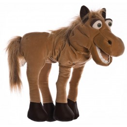 Helge the Horse Hand Puppet