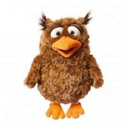Eulalie - Owl Hand Puppet