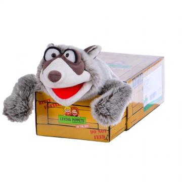 El Bandito -  Raccoon In the Box Hand Puppet