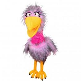 Madame Quassel Schlamassel - Bird Hand Puppet