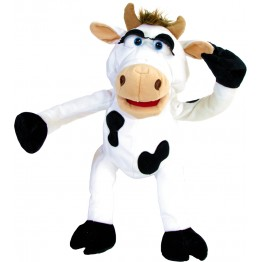 Chantal the Cow - Hand Puppet