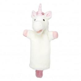 Unicorn (Pink)  Long Sleeved Puppet