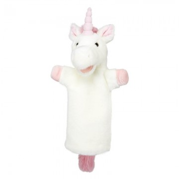 Unicorn (Pink)  Long Sleeved Puppet