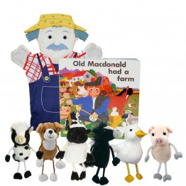 Old Macdonald Book with Puppets