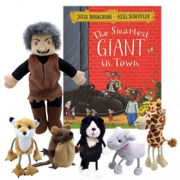 The Smartest Giant in Town with puppets