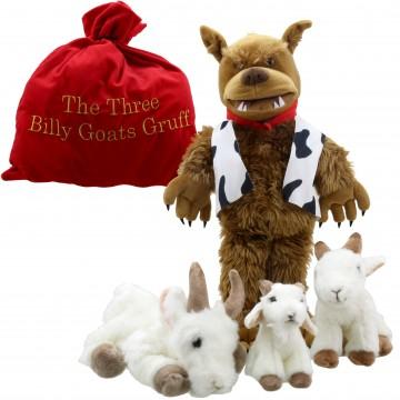 Three Billy Goats Gruff Giant Story Telling Set