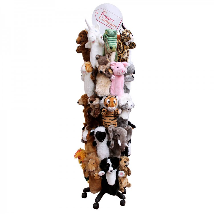 40 Arm Display Stand Delectable Puppet Display Stand