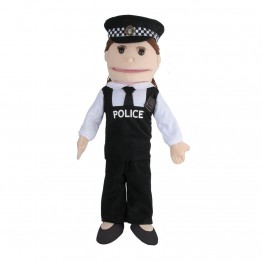 Police Person Dressing Up Outfit