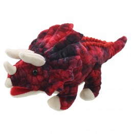 Baby Dinos: Triceratops (Red)