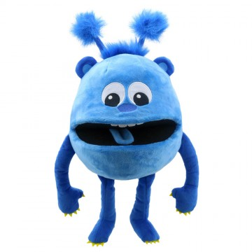 Blue -  Baby Monster Hand Puppet