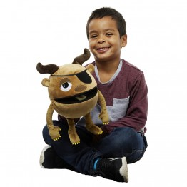 Brown -  Baby Monster Hand Puppet