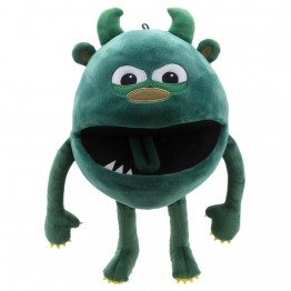 Green -  Baby Monster Hand Puppet