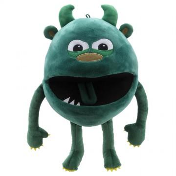 Green -  Baby Monster Hand Puppet