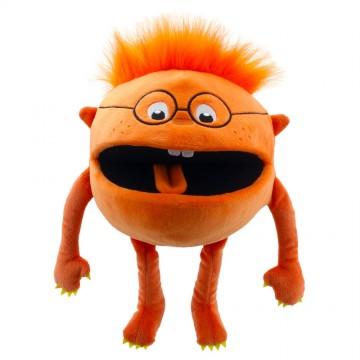 Orange -  Baby Monster Hand Puppet