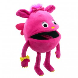 Pink  -  Baby Monster Hand Puppet