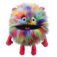 Rainbow -  Baby Monster Hand Puppet