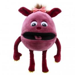 Rasberry  -  Baby Monster Hand Puppet